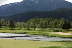 The mountains of Big Sky Golf Club inviting you to play sometime soon.