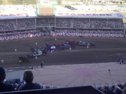 Chuck wagons get underway