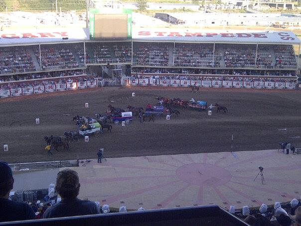 Chuck wagons get underway