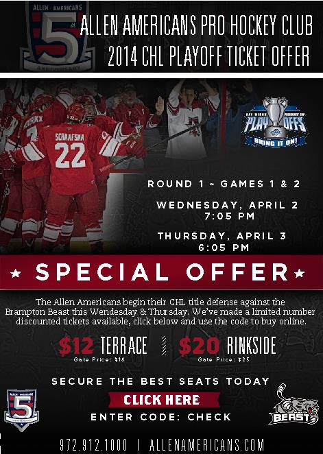 americans playoff offer